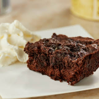 Gooey--Delicious S'mores Brownies.