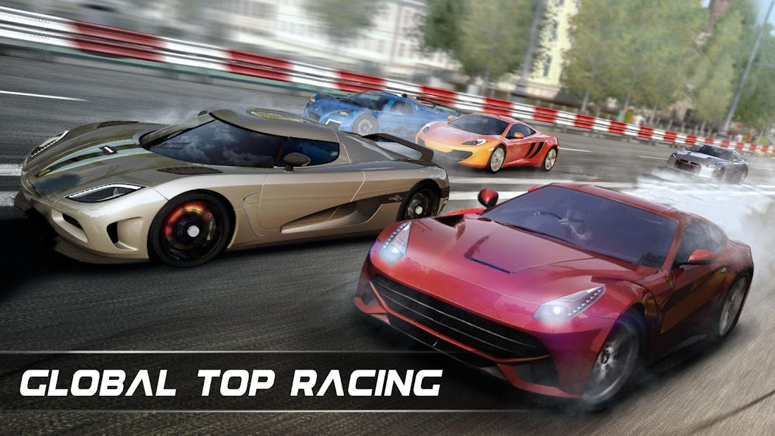 Drift Chasing-Speedway Car Racing Simulation Games Android App Screenshot