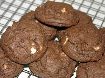 Chocolate Fudge Irish Cream Cookies
