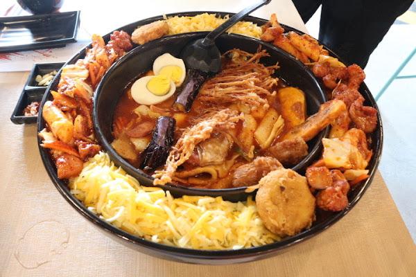 OMAYA春川炒雞 牽絲起司韓式料理 罪惡感能吃嗎?