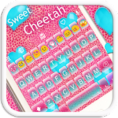 Sweet Cheetah Emoji Keyboard