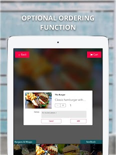FineDine Tablet Menu- screenshot thumbnail