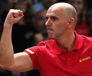 """Johan Van Herck blikt terug op eerste Davis Cup-ontmoeting: """"Zijn hand trilde constant"""""""