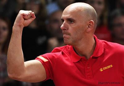 Johan Van Herck évalue les opposants de la Belgique à la Coupe Davis