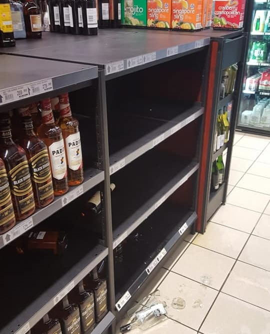 Expensive liquor stolen in early-morning raid on Cape Town store - SowetanLIVE