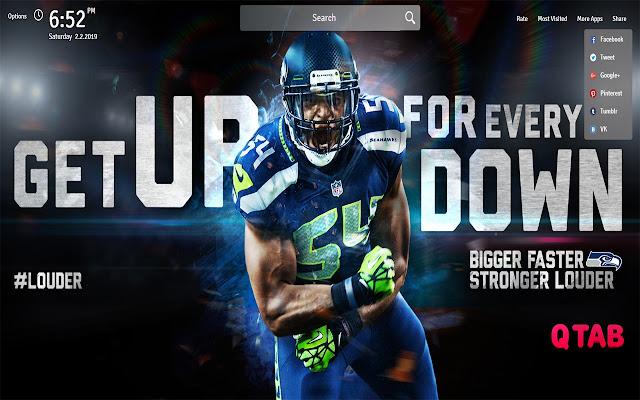 Seattle Seahawks Wallpapers New Tab