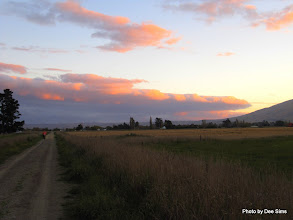 Photo: (Year 2) Day 303 - Still on the Trail at Sunset (Just As We Come in to Middlemarch)
