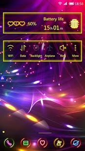 Download free Fluorescent 91 Launcher Theme for PC on Windows and Mac apk screenshot 2