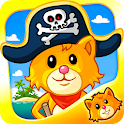 Amazing Pirate Puzzle For Kids icon