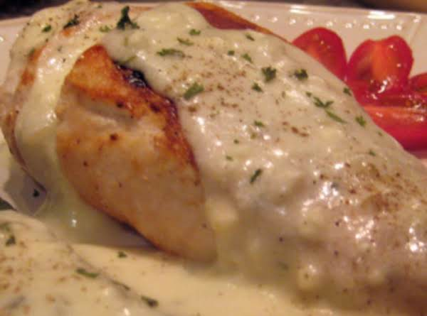 Chicken Breasts With Feta Cheese Sauce Recipe