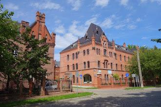 Photo: cihlové domy v Prudniku