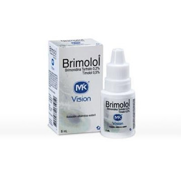 Brimolol 0.2%/0.5% Sol.   Oft. Fco. x5ml MK Brimonidina Tartrato Timolol