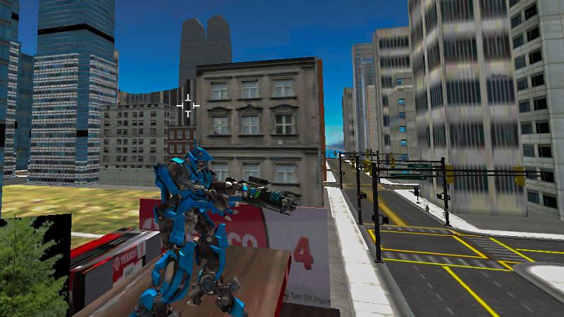 Скриншот Robots Fighting In Street