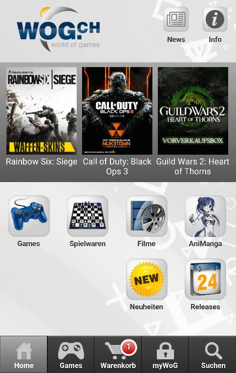 WoG.ch Game Shop- screenshot