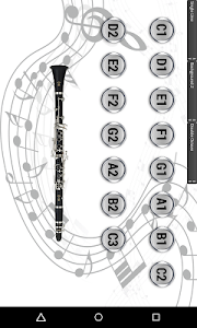 Virtual Clarinet screenshot 3