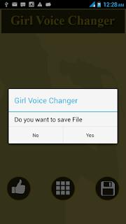 Girl Voice Changer screenshot 02