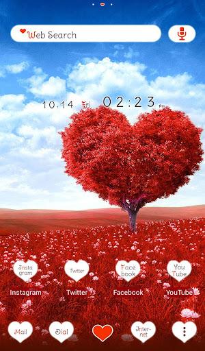Heart Tree +HOME Theme 1.0.0 Windows u7528 1
