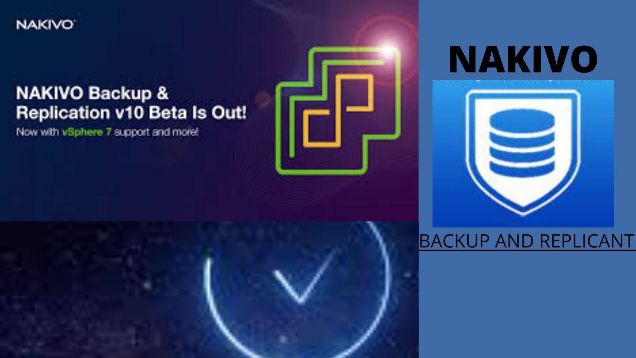 Nakivo - backup software