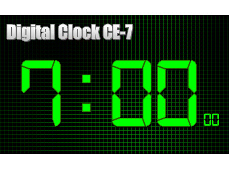 Digital Clock CE-7