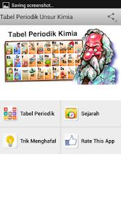 Tabel periodik unsur kimia v3 aplikasi di google play gambar screenshot urtaz Choice Image