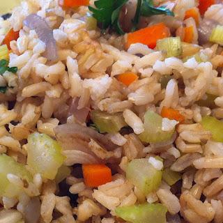 """Tom's """"Fried"""" Rice."""