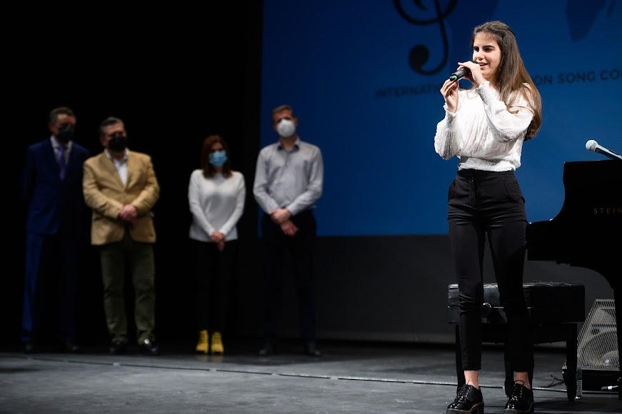 Laura Diepstraten durante su presentación.