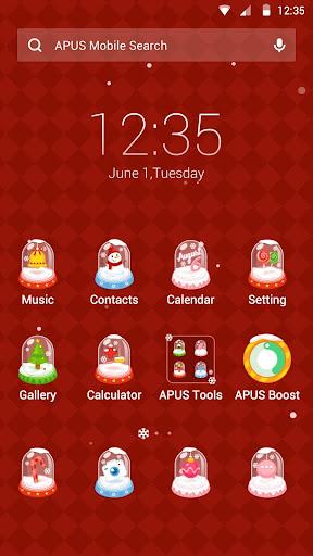 Christmas Dream theme for APUS