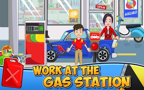 My Town : Car wash fix & drive Mod Apk Download For Android 3