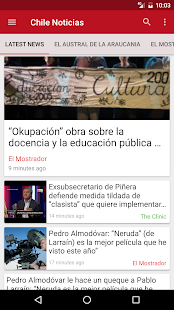 Chile Noticias- screenshot thumbnail