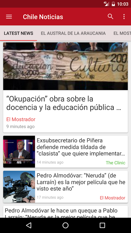 Chile Noticias- screenshot