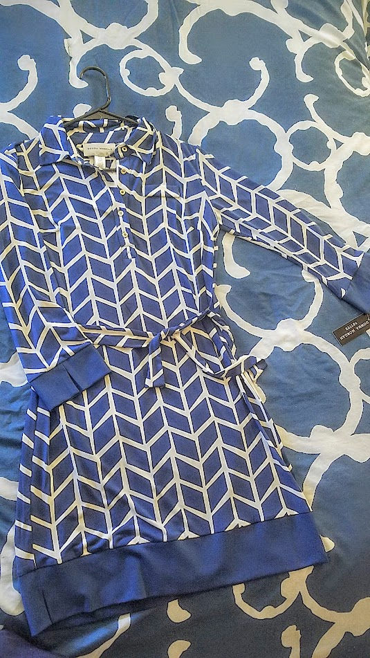 September Stitch Fix Box, Donna Morgan Marlow Jersey Shirt Dress