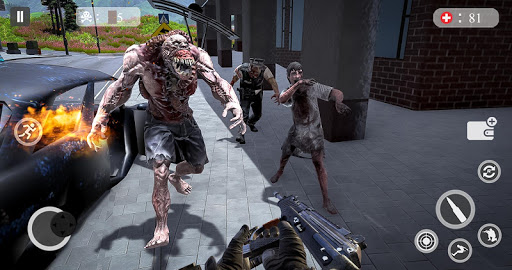 Zombie Attack Games 2019 - Zombie Crime City screenshots 8