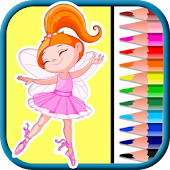 Fairies & Pixie coloring pages