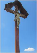 Photo: Turda - Str. Avram Iancu, Nr.49 - Biserica Franciscana, crucifix - 2018.05.28
