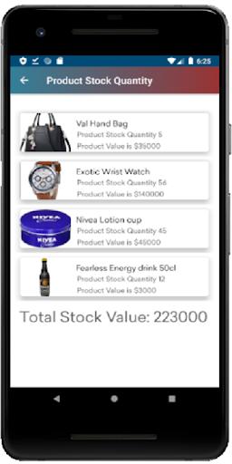 الهدف POS المخزون المجاني غير المتصل ونقاط البيع مع لقطات شاشة التقرير 3