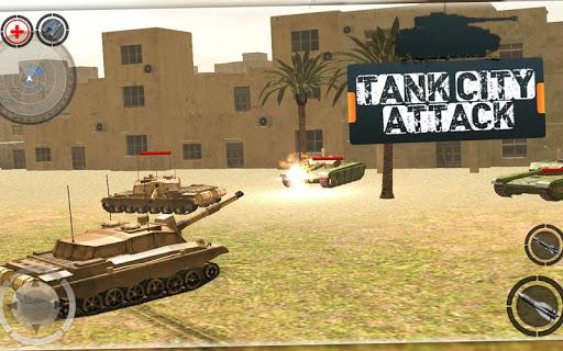 미친 탱크 전쟁 분노