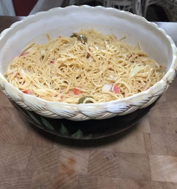 Olive Pasta Salad Recipe