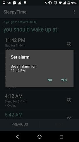 android SleepyTime Plus Screenshot 4