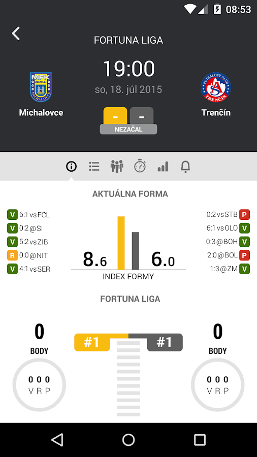 FORTUNA LIGA- screenshot
