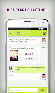 Qeep - Chat, Flirt, Friends- screenshot thumbnail