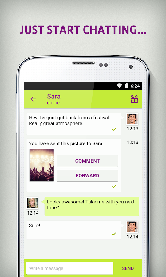 Qeep - Chat, Flirt, Friends- screenshot