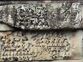 Photo: Carvings at Angkor Wat