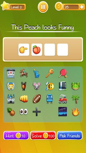 Words to Emojis u2013 Best Emoji Guessing Quiz Game  gameplay | by HackJr.Pw 2