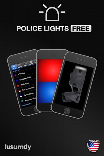 Police Lights Free screenshot 2