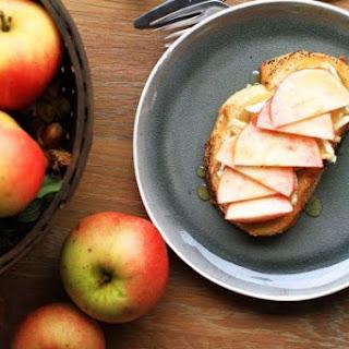 Apple Honey Brie Toast.
