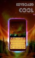 Screenshot of Cool Keyboard with Emoji
