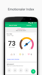 Wallet - Budget, Geld, Aufwand, Bonuskarten, Bank Screenshot