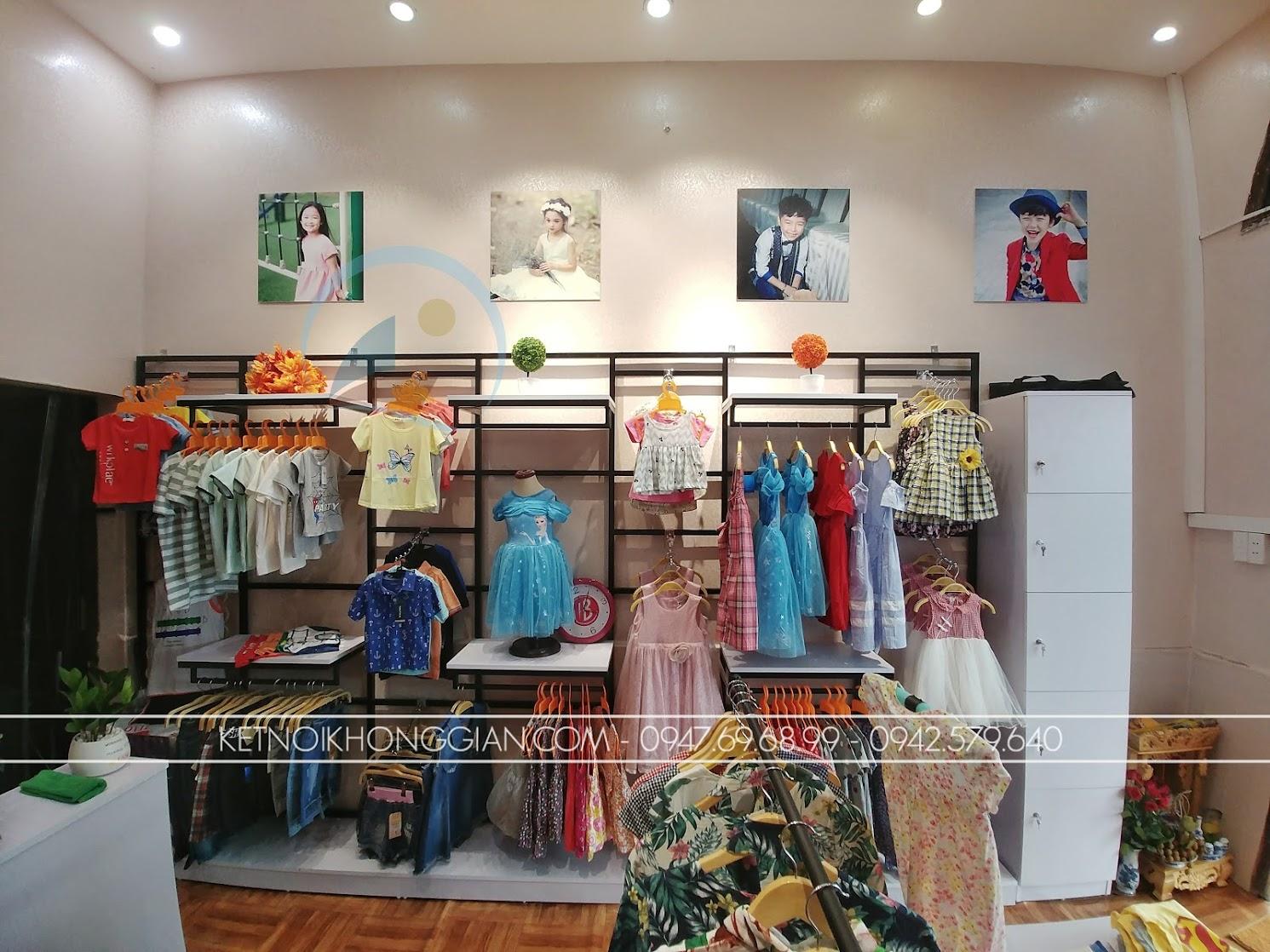 thiết kế shop thời trang 2