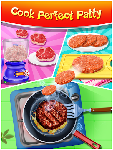 Happy Kids Meal Maker - Burger Cooking Game 1.2.6 Screenshots 4