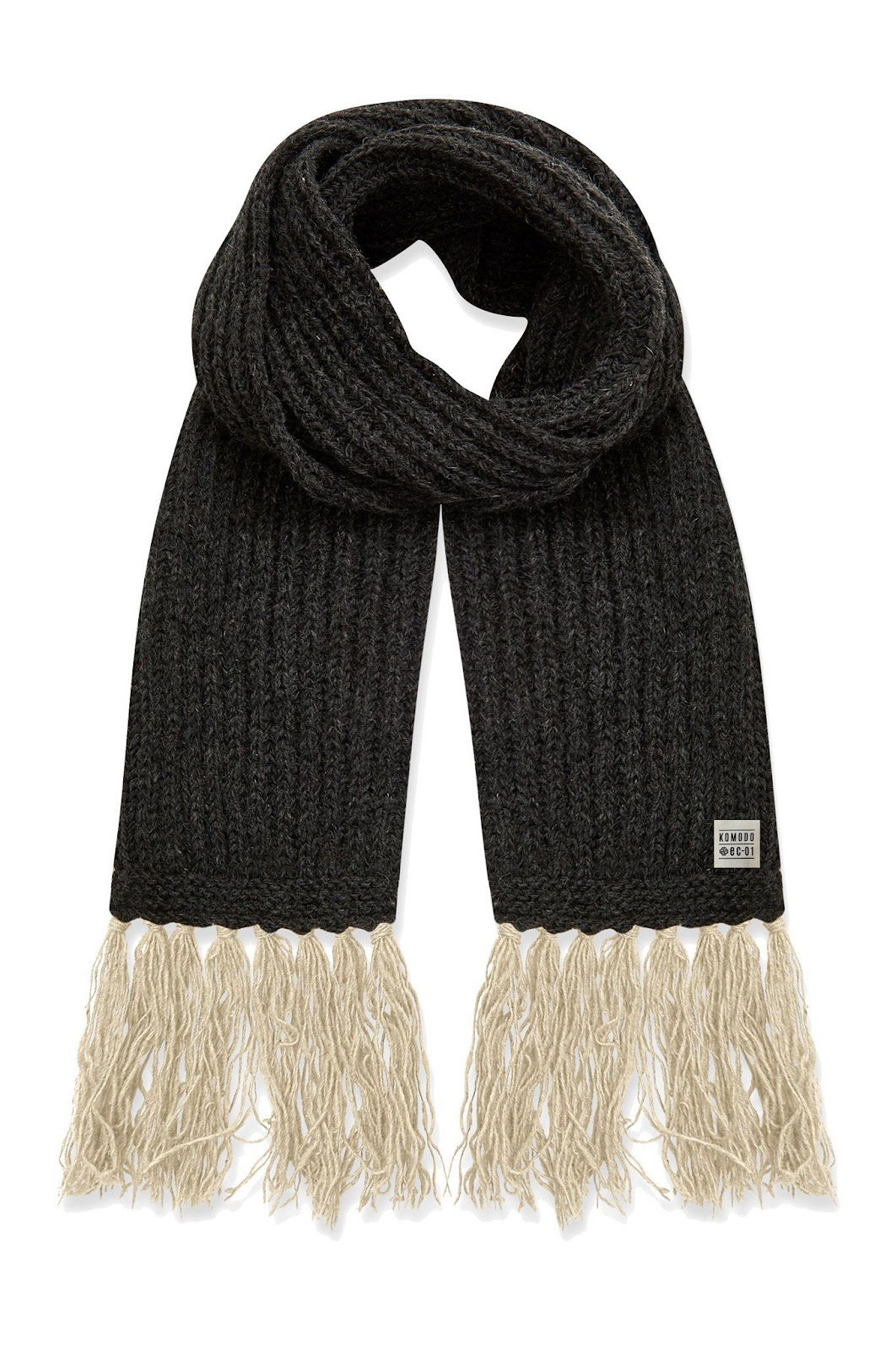 recycled wool scarf